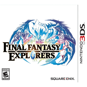 3DS mäng Final Fantasy Explorers