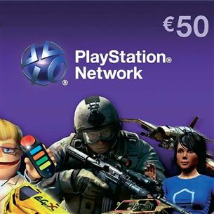 PlayStation Network Live kaart, Sony / €50