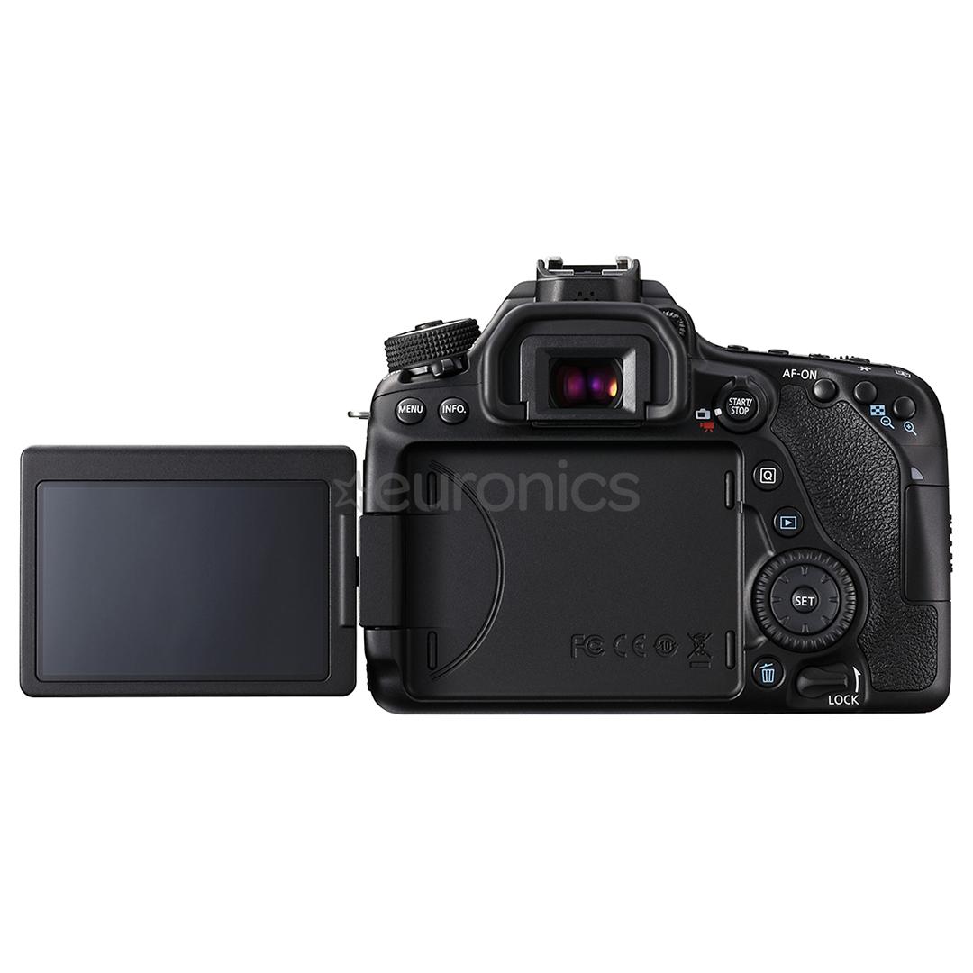 DSLR camera body Canon EOS 80D