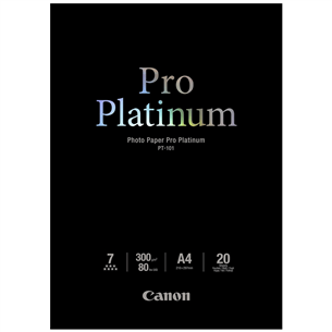 Photo paper PT-101 Pro Platinum (A4), Canon 20 sheets
