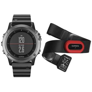 Spordikell fenix 3 GPS Safiir HRM, Garmin