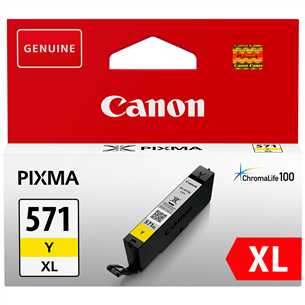 Ink cartridge CLI-571XL (yellow), Canon