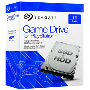 Hübriidketas Game Drive PS3/PS4 konsoolile, Seagate / 1 TB