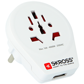 Travel adapter World to Europe USB, SKROSS