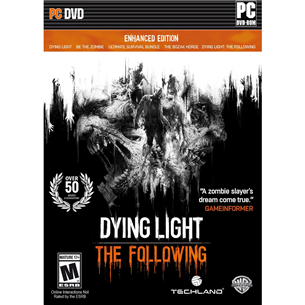 Arvutimäng Dying Light: The Following - Enhanced Edition