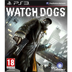 PS3 mäng Watch Dogs