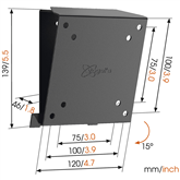 TV Wall Mount Vogels MA1010 (17-26)