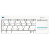 Wireless keyboard K400 Plus, Logitech / SWE