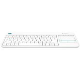 Беспроводная клавиатура K400 Plus, Logitech / SWE