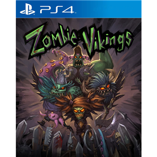 PS4 mäng Zombie Vikings