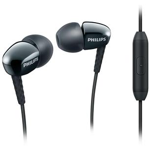 Kõrvaklapid SHE3905BK, Philips