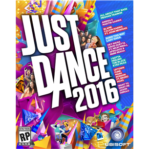 PS4 mäng Just Dance 2016