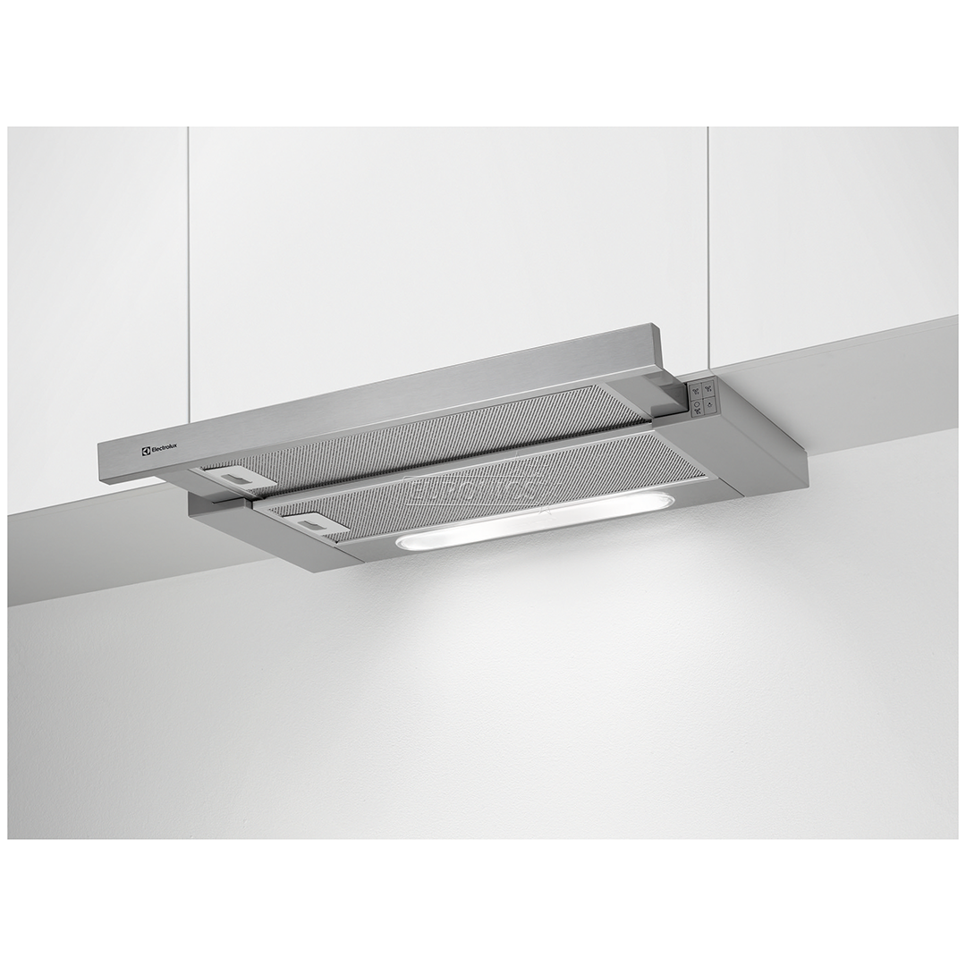 Pull Out Cooker Hood Electrolux Max Extraction 600m³ H