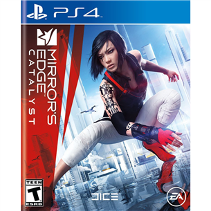 PS4 mäng Mirrors Edge Catalyst