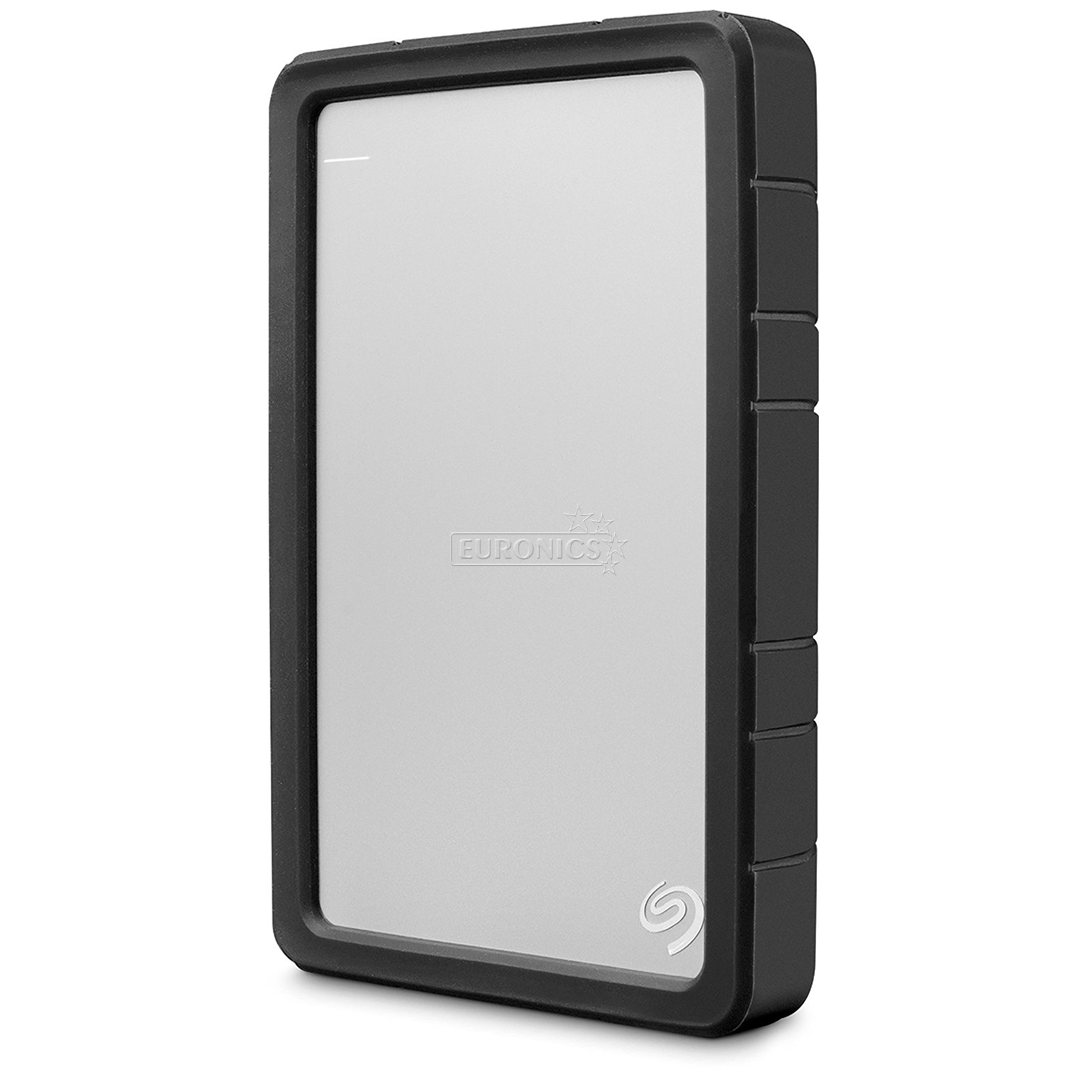 External Hard Drive Case Seagate Stdr400 Hdd Backup Plus Slim 1tb Silver