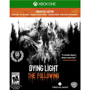 Xbox One mäng Dying Light: The Following - Enhanced Edition