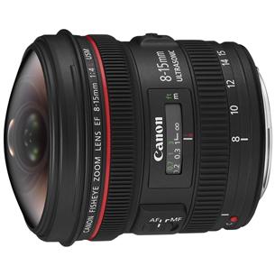 Objektiiv EF 8-15mm f/4L Fisheye USM, Canon