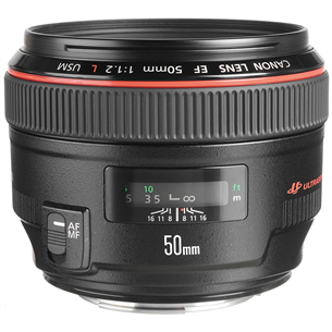 Objektiiv EF 50mm f/1.2L USM, Canon