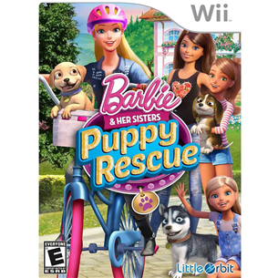 Wii mäng Barbie and her Sisters Puppy Rescue