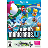 Wii U mäng New Super Mario Bros. U + New Super Luigi U bundle