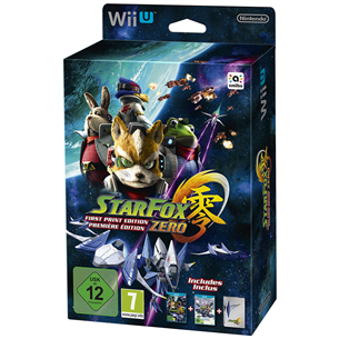 Wii U mäng Star Fox Zero First Print Edition