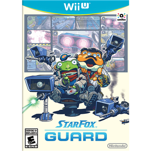 Wii U mäng Star Fox Guard digitaalversioon