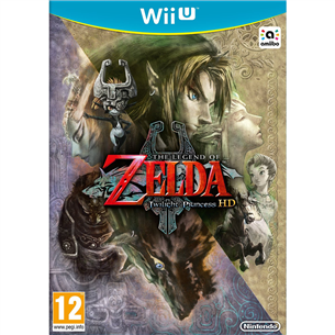 Wii U mäng The Legend of Zelda: Twilight Princess HD