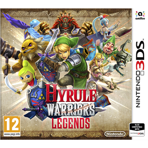 3DS mäng Hyrule Warriors: Legends