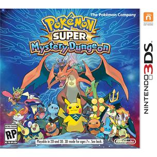 3DS mäng Pokémon Super Mystery Dungeon