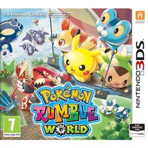 3DS mäng Pokémon Rumble World
