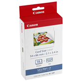 Color Ink and Label pack KC-18IF, Canon