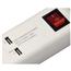 Удлинитель, Hama / 5 гнёзд, 2 USB-интерфейса