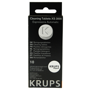 Cleaning tablets 10pcs, Krups
