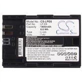 Rechargeable battery CS-LPE6, Cameron Sino