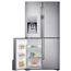SBS-külmik NoFrost, Samsung / kõrgus: 182,5 cm