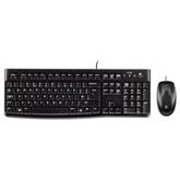 Klaviatuur + hiir Logitech MK120 (US)