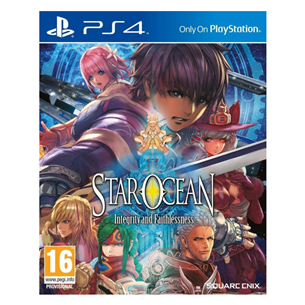 PS4 mäng Star Ocean: Integrity and Faithlessness