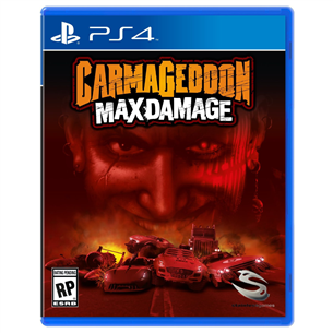 PS4 mäng Carmageddon: Max Damage