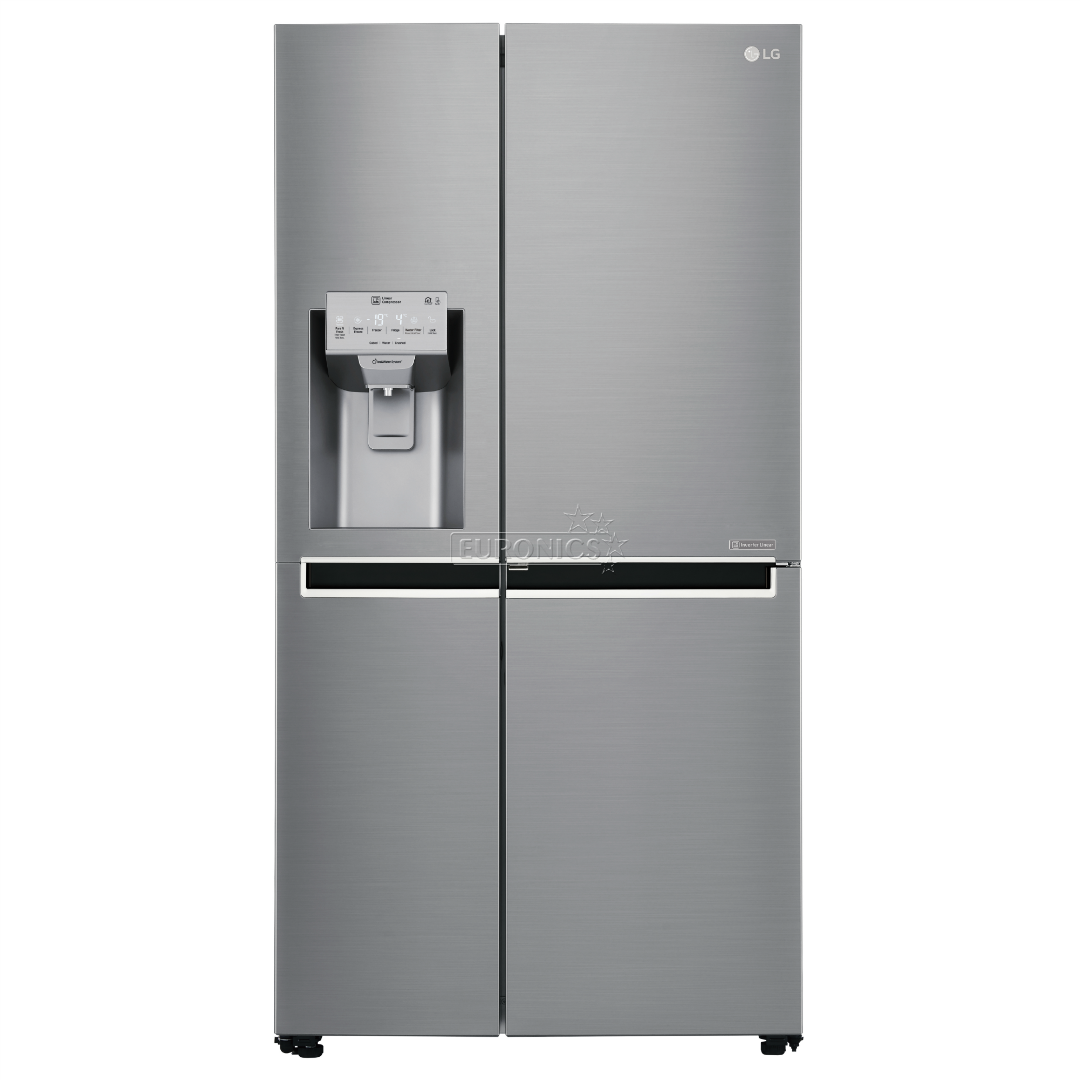 Side-by-Side Refrigerator NoFrost LG / height 179 cm, GSJ960PZBZ