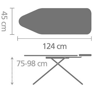 Triikimislaud Brabantia 124 x 45 cm