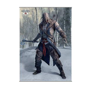 Плакат Assassins Creed III, SquareEnix