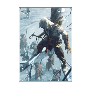 Poster Assassins Creed III, Square Enix