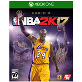 Xbox One mäng NBA 2K17 Kobe Bryant Legend Edition