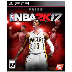 PS3 mäng NBA 2K17