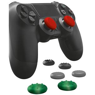 Силиконовые кнопки для пульта PS4, Trust / 4 пары 20814