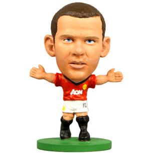Kujuke Wayne Rooney Man United, SoccerStarz