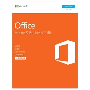 Kontoritarkvara Windowsile Office - Home & Business 2016, Microsoft / EST