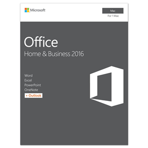 Office Home & Business 2016, Microsoft / ENG, Mac