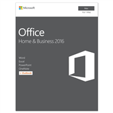 Kontoritarkvara Macile Office Home & Business 2016, Microsoft / ENG