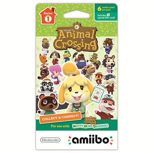 Amiibo Cards collection Series 1, Nitendo